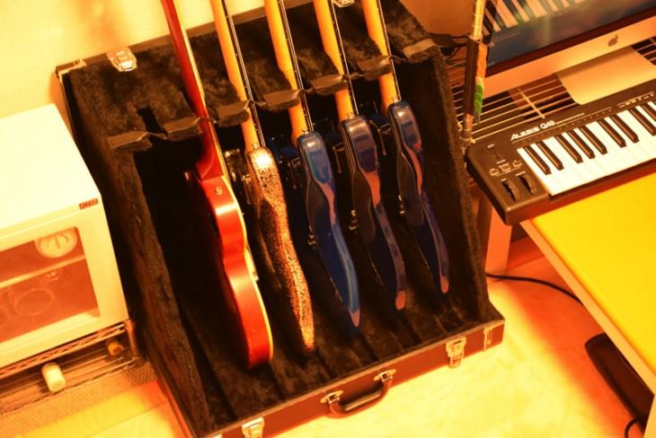 コスパ最強!6本立てギタースタンド