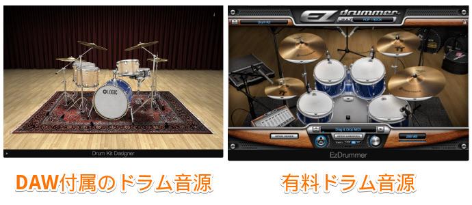 ドラム音源