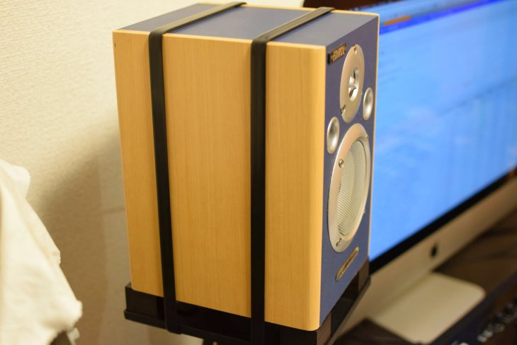 【レビュ】音も良くなるスピーカー地震対策「TiGLON チューニングベルト」