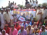 villagers agitating1