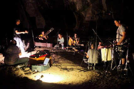 we are ghosts במערת לוזית. צילום: נעה מגר