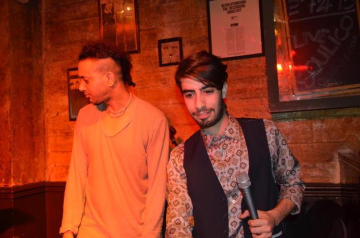 לירון ורביד כחלני, בלוז תימני במרתף היפסטרים. צילום: יובל אראל