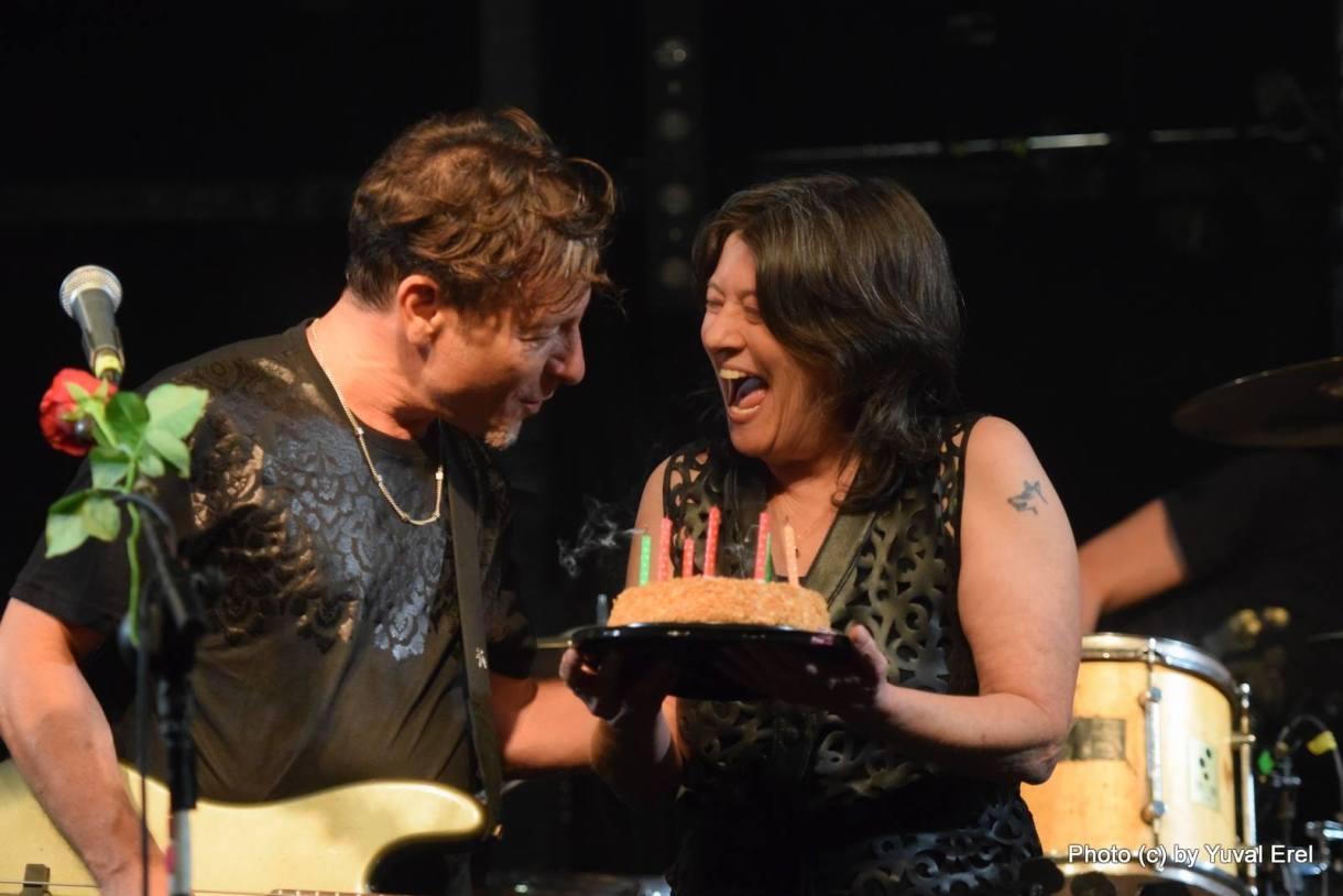 קורין וערן, יום הולדת. צילום: יובל אראל