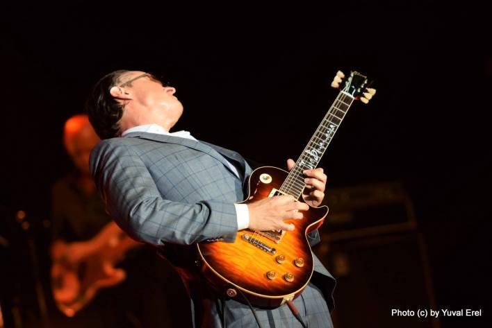 ג'ו בונמסה, גיבור גיטרות. צילום: יובל אראל