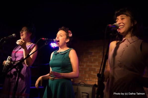 האחיות לוז שרות פוליאנה פרנק. צילום: דפנה טלמון