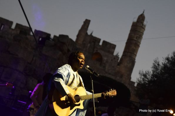 באאבא מאאל במגדל דוד. צילום: יובל אראל