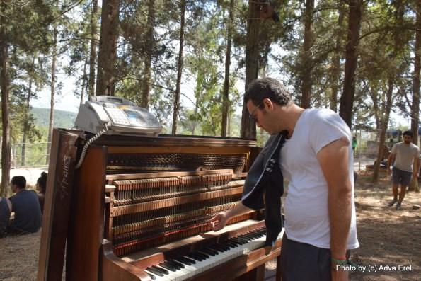 פסנתר להמונים. צילום: אדוה אראל