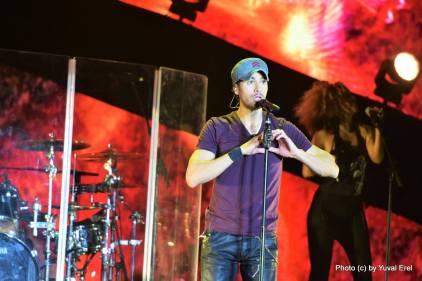 אנריקה איגלסיאס בתל אביב, הוא חוזר. צילום: יובל אראל