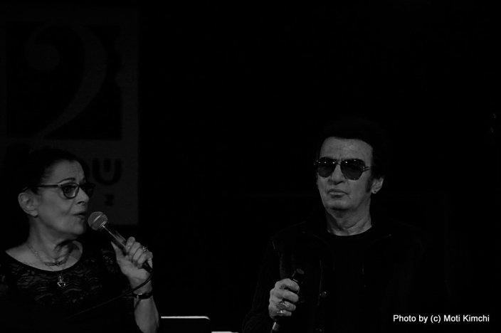 עדנה גורן וקובי רכט. צילום: מוטי קמחי