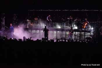 המופע של A-ha ברעננה. צילום: יובל אראל
