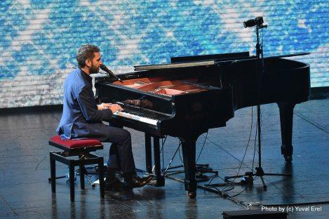 שלומי שבן בפסטיבל הפסנתר 2018. צילום: יובל אראל