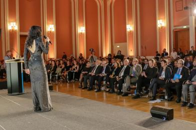 דנה אינטרנשיונל בברלין. צילום: אייל גרניט, קרן פורום העתיד גרמניה-ישראל