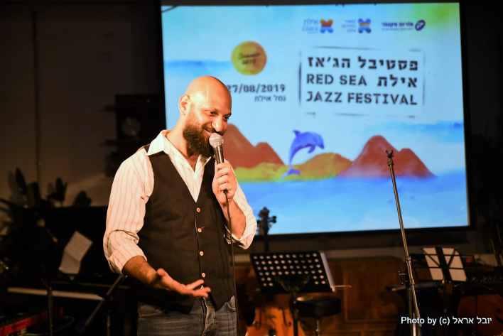 אלי דג'יברי, המנהל האמנותי בפסטיבל. צילום יובל אראל
