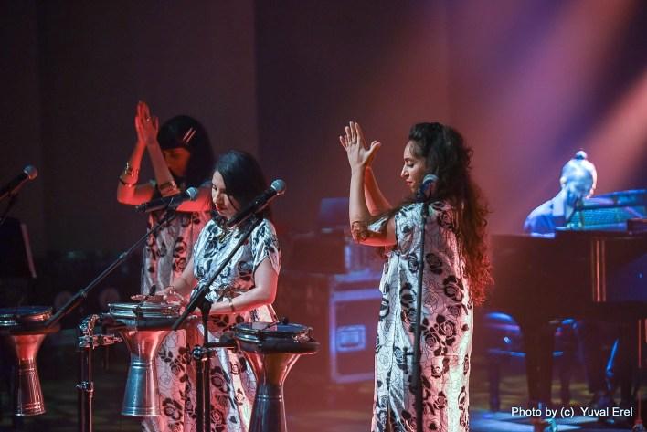 בנות A-WA בפסטיבל הפסנתר. צילום יובל אראל