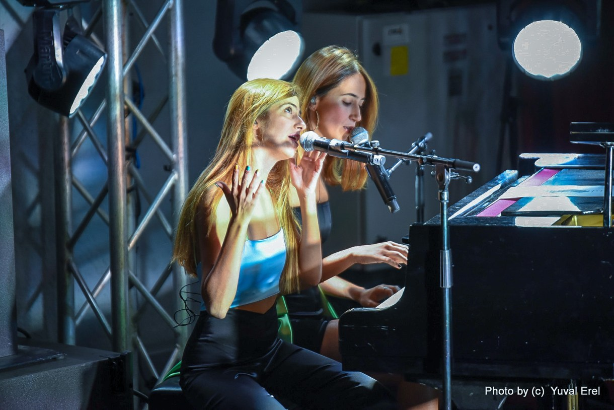 האחיות כרקוקלי בפסטיבל הפסנתר. צילום יובל אראל