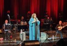 מריה פרנדורי - מיקיס תיאודוראקיס - מופע מחווה חד פעמי. צילום טלי ספיר ושי שיר