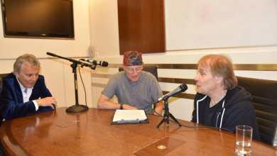 ריצ'רד קליידרמן בראיון לקראת הופעותיו בישראל. צילום יובל אראל