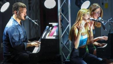 פסנתרים במוזיאון. צילום יובל אראל, עריכה תומר גילת
