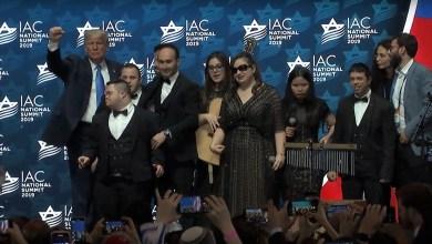 Photo of להקת שלווה הופיעה בפני נשיא ארצות הברית