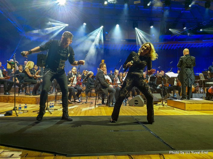 Queen Symphonic - A Rock & Orchestra Experience . צילום יובל אראל