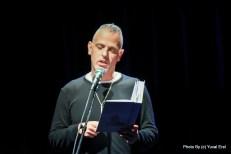 מחווה למשורר ארז ביטון. צילום יובל אראל