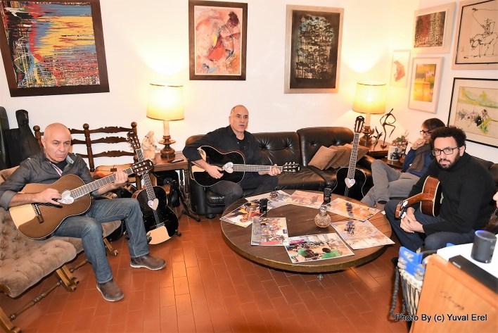 פרויקט מיליון הגיטרות. צילום יובל אראל