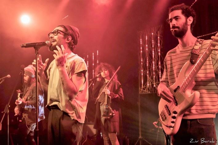 התבלינים הופעה זאפה תל אביב. צילום זיו ברק