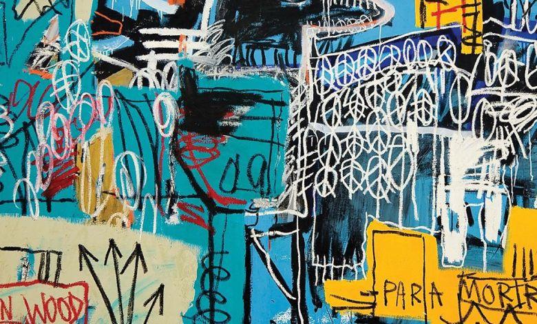 Bird on Money by Jean-Michel Basquiat