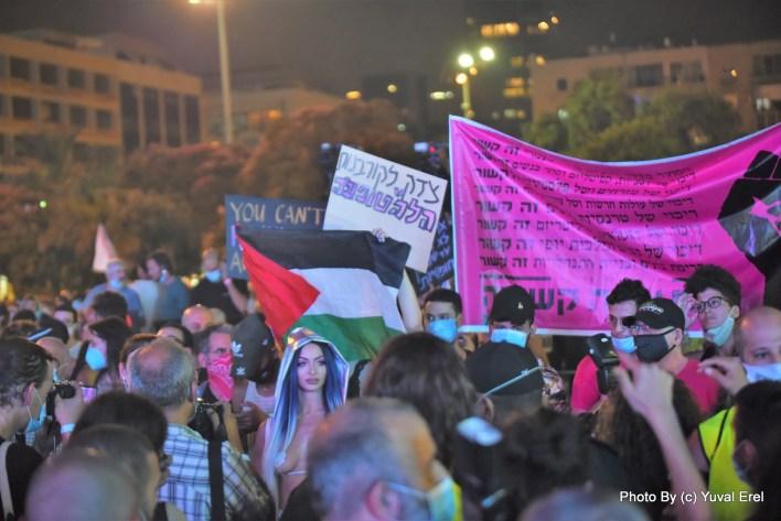 עצרת הגאווה - המהפכה לא הושלמה. צילום יובל אראל