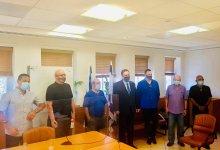 """המפגש במשרד האוצר. צילום פייסבוק אקו""""ם"""
