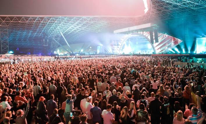 ארנת ההופעות של דובאי. האתר הרשמי