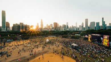 Lollapalooza photo by Charles Reagan Studios