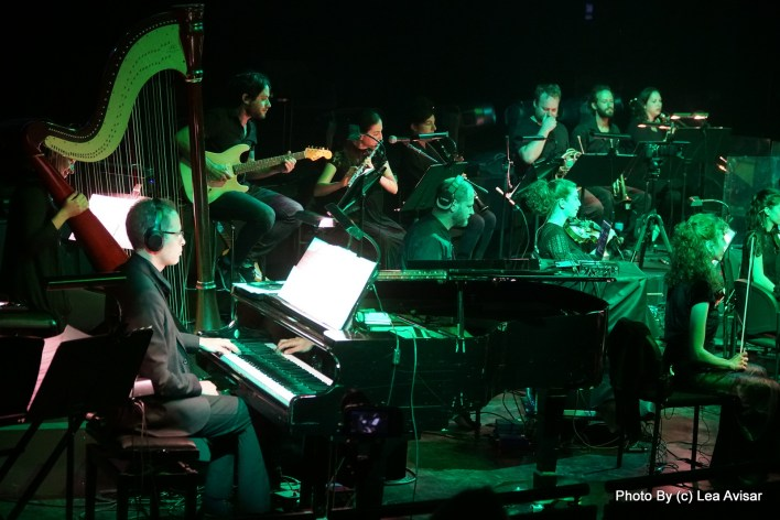 תזמורת המהפכה - קונצ'רטו לגשש ולתזמורת. צילום לאה אבישר