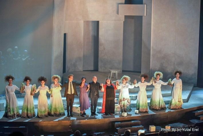 אמהות, אופרה ישראלית מקורית. צילום יובל אראל