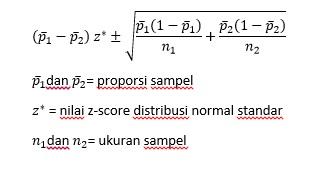 formula-kasus-selang-kepercayaan-dua-proporsi