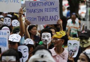 Anti-government protesters Bangkok