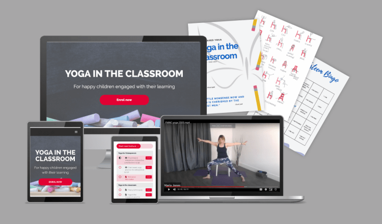Yoga in the classroom course
