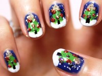 Nail designs for Christmas - yve-style.com