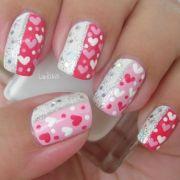 nail design valentines