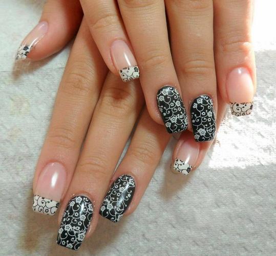 New Years nail designs
