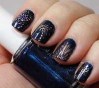 New Years nail designs - yve-style.com