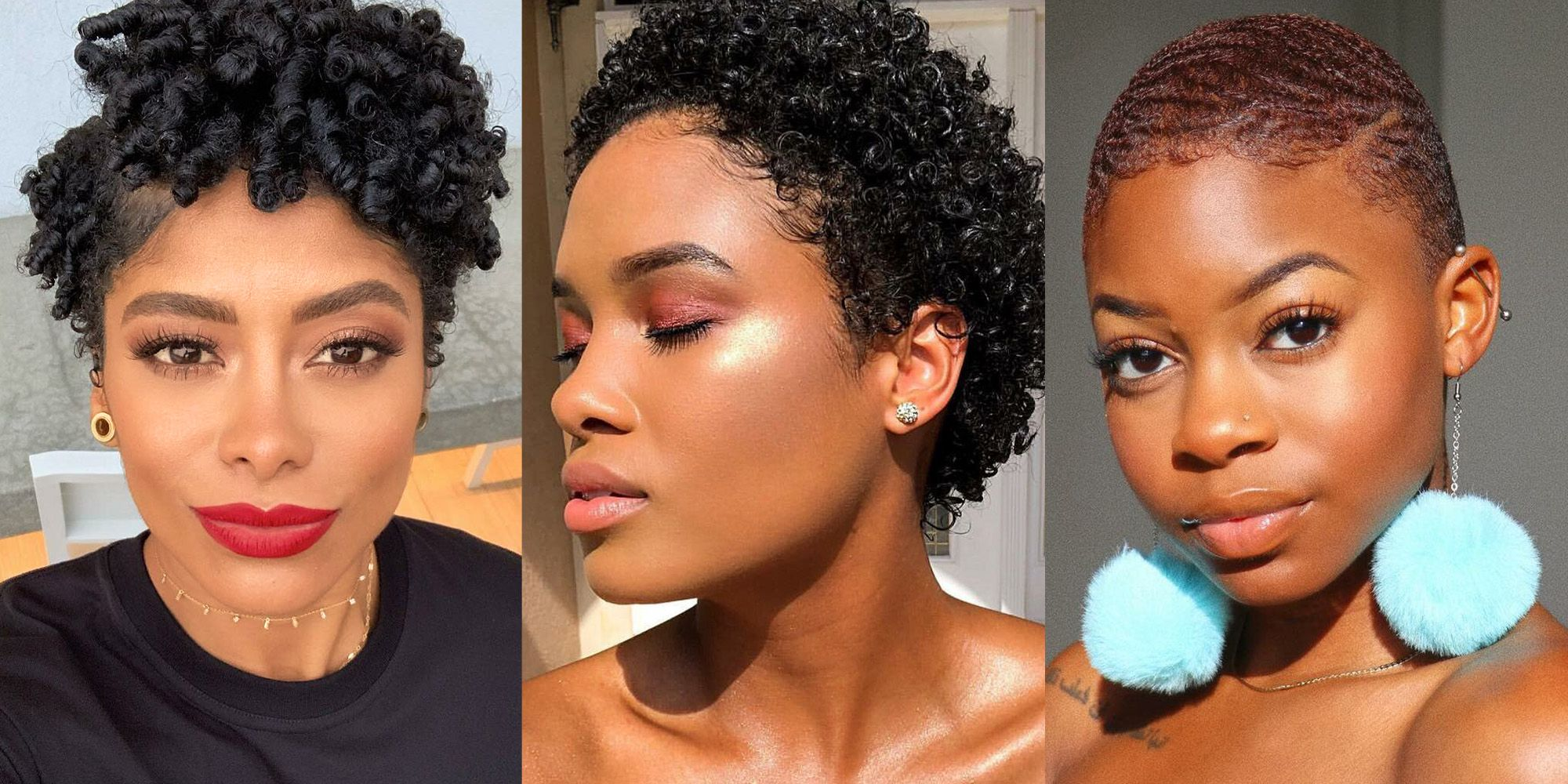20 Short Natural Hairstyles Easy To Do Yve Style Com