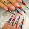 Acrylic nail designs1 stiletto nail designs most beautiful ideas