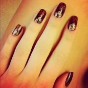 fall nail design 2015