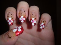 Beautiful pictures with Flower nail designs - yve-style.com