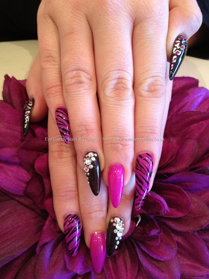 Stiletto nail designs most beautiful ideas  yvestylecom