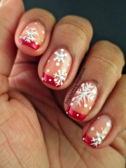 exclusive french tip nail