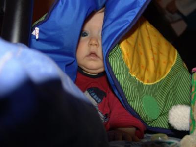 Meine Spielwiese ist auch ein super Zelt