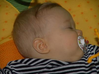 Das Krümelchen ist eingeschlafen