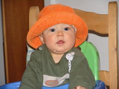 Wie findet Ihr meinen neuen Hut?